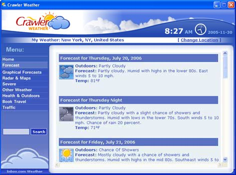 free desktop weather